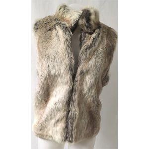 Faux Fur Vest Size XL